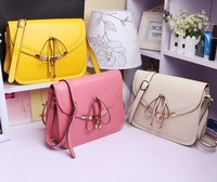 Free shipping, Summer new arrival 2013vivi sweet bow small shaping quality fresh shoulder bag, messenger bag