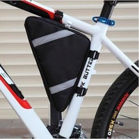 FREE SHIPPING Outdoor Cycling Triangle Bag Front Tube Frame Pouch Bicycle Bike Bag