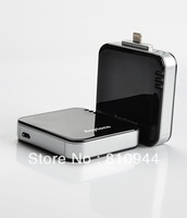 2pcs/lot--FREE SHIPPING !! 1800mAh Mobile Power Bank for iPhone5, 8 pin Apple devices