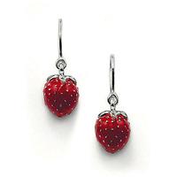 Ear hook earrings ts charm pendant drop earring