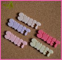 50pcs/lot multicolor flatback resin letters Kawaii flatback Resin cabochons scrapbooking diy phone decoration