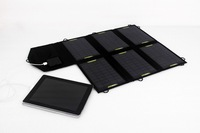factory directly selling new 21W foldable solar charger bag for Ipad/Iphone