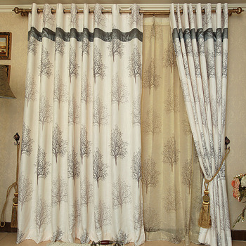 Quality fashion curtain luxury thickening fluid modern curtain bedroom curtain finished screens curtain customize