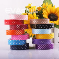 Cotton cloth Adhesive tape dot decoration belt photo album tape gift decoration belt