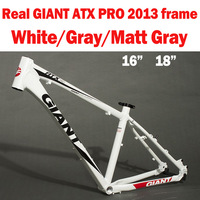 "Free Shipping Real GIANT Brand 2013 ATX PRO Bike Frame, Aluminum Bicycle Frame 16"" and 18"" Three Color"