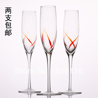 Kupper glass champagne glass hanap red wine cup wine glass