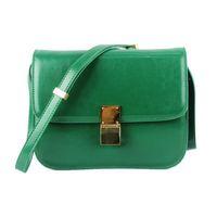 Classic Box Leather Shoulder Bag 88007