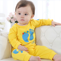 Children's clothing 2013 spring and autumn baby set infant baby summer air conditioning service