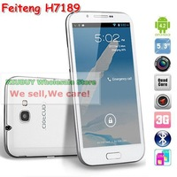 Feiteng MTK6589 H7100 5.3 inch H7189 Android 4.2 Quad Core Phone GSM WCDMA 3G Smart Phone