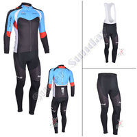 Top quality Cycling jersey 2013!Men's long sleeve + pants bicycle set/outdo0r spring autumn winter riding jersey suits MC08