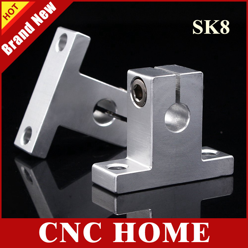 25mm Linear Rail Shaft Support FOR XYZ Table CNC Router Milling 10 PCS SK25