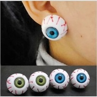 Min.order is $10(mix order) free shipping 2014 new jewelry  fashion noble small lovely eye stud earring stud earring clip female