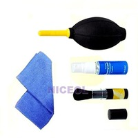 NI 7 in 1 Professional Lens Cleaning kit Retractable Brush Wipes For Canon Nikon