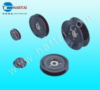 Flanged wire gide pulley(wire roller) pulley guides ID:5mm