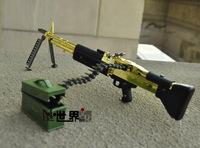 M60 belt bullet cf metal gun model the disassemblability sniper gun child day gift male