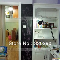 Free Shipping! DIY Blakboard Sticker! Erasable&Long-lived Rewritable Wallpaper. Message-leaving Board. Big Size Message Board.