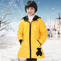 2013 autumn and winter hot-selling children's clothing female child beautiful wadded jacket cotton-padded coat