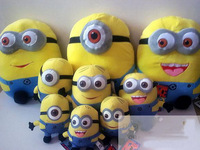 Despicable ME Movie Plush Toy 17cm Minion Jorge Stewart Dave NWT with tags 5pcs