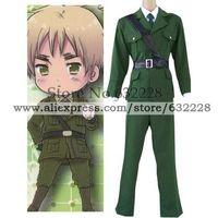 Hetalia Axis Powers England Cosplay Costume
