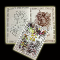 Free Shipping  A4   Tattoo Reference Book For Tattoo Supply 60pages