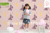 Pvc wallpaper rustic bedroom wallpaper glue sticky notes thickening 10 meters, self-adhesion wallpaper,