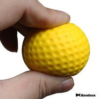 10 Pcs/bag Light Indoor Outdoor Training Practice Golf  Balls New Sports Elastic PU Foam Balls