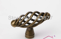 5 pieces/lot single knob iron cabinet knob AB antique knobs high quality knobs furniture pull