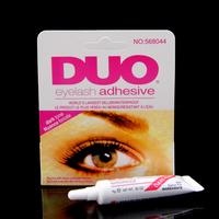 Free shipping DUO Eyelash Glue Black Adhesive False Eyelash Glue For Professional Clear,2pcs/lot