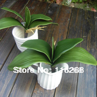 Butterfly orchid leaves home decor  Orchid leaf accessories  simulation flower arranging flowers wedding flower pots planters