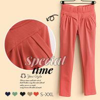 2013 spring formal casual all-match pants high waist harem pants slim skinny pants trousers female t261