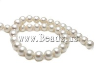 Free shipping!!!Round Cultured Freshwater Pearl Beads,sale, natural, white, High Replica, 12-13mm, Hole:Approx 0.8mm