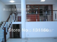 Stainless steel + wood combination column / stair rails / stair handrail fittings