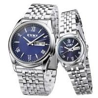 Calendar male table archer fashion waterproof strip watchband quartz lovers watch luminous watches