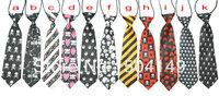 Hallowmas Skull Skeletons Children tie/halloween Child necktie/Boys Girls Ties/ Baby scarf neckwear neckcloth/tie  30pcs/lot