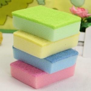 FEDEX FREE SHIPPING! 500PCS/LOT! Multi-colored sponge nano clean super cleaning sponge magic 10X7CM