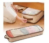 45L Large Carpet Clothing Storage Organizer Box Clear Window Underbed ID:2013073101