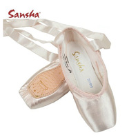 Ballet dance shoes toe shoes sansha satin  dance shoes