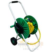 Free shipping, Portable hose reel set 20 meters tube high pressure hose reel car high pressure water gun shower