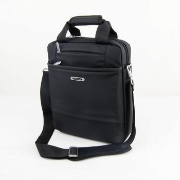Commercial 13 laptop bag casual bag handbag shoulder bag messenger bag waterproof nylon cloth black