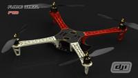 READY-TO-FLY: DJI NAZA-M GPS Multi-Rotor Autopilot+DJI QUAD F450+JR XG8 RADIO