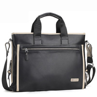 man bag male shoulder bag messenger bag casual bag commercial 14 laptop bag big bag