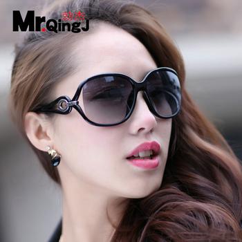 2013 fashion sunglasses large frame sunglasses women's sun glasses trend sunglasses