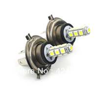 Free shipping The H4-5050 1.3 W car white light and 18 lumen 6500K