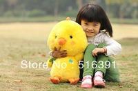 Senior quality pp cotton pet plush toy yellow chick 40cm plush toy stuffed animal toys free shipping
