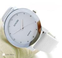 Inveted fashion rhinestone lovers watch white watch ladies watch strap