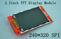 Free shipping !!!2.2inch 240*320 SPI TFT LCD Module Dirver ILI9341 for 51/AVR/STM32/ARM/PIC borad