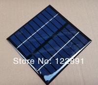 Wholesale! 2W 9V Mini Solar Cell Solar Module Polycrystalline Solar Panel DIY Solar Charger 115*115*2 MM 12pcs/lot Free Shipping