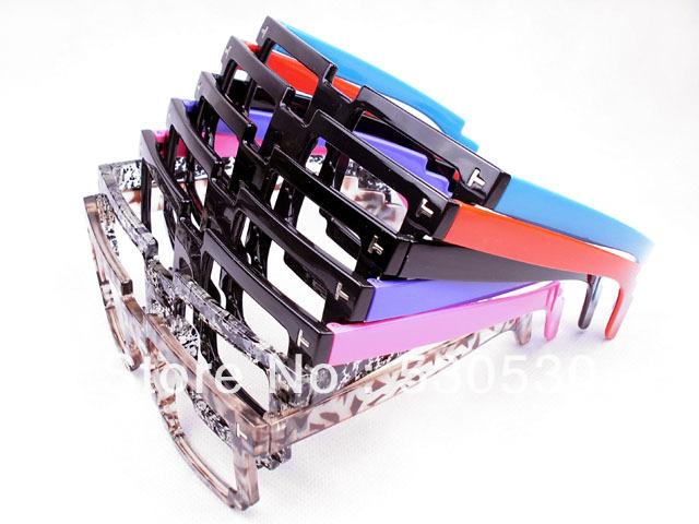 2013 New Nerd Greek Fashion Sun Glasses Retro Masaic Glasses Frame Free Shipping