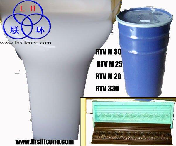 gypsum cornice molding silicone rubber(China (Mainland))