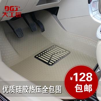 Termocompressão Car mat vw passat santana pullo passos saltos dirigir ligação Jettas uma peça tapete completo